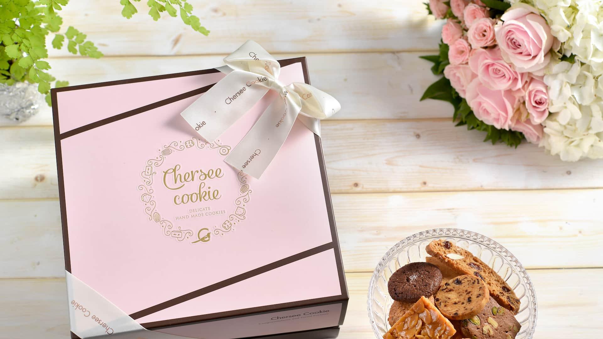 浪漫粉喜餅禮盒